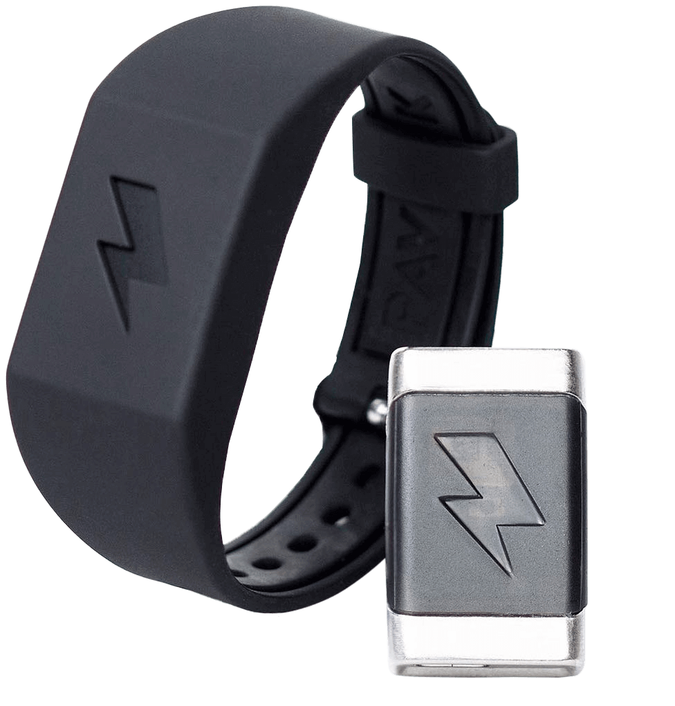 Pavlok Black band with device